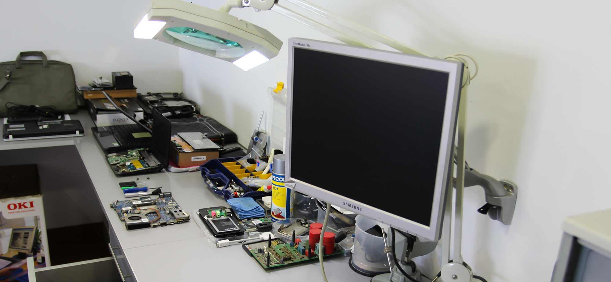 Zona técnica de hardware